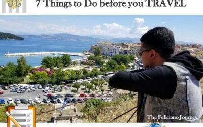 7 Things to do before you Travel – Tips for a smoother trip