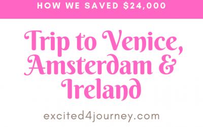 Flight Saving 23K – Venice, Amsterdam, Ireland