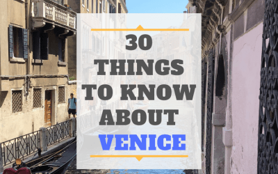 30 Things to Know before Visiting Venice (video included)