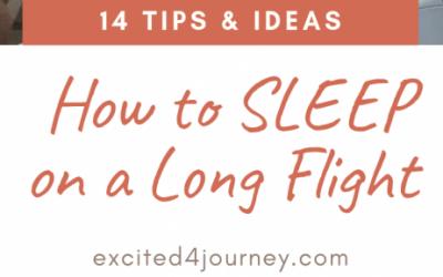 14 Tips How to Sleep on a long flight